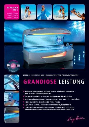 GRANDIOSE LeistUng - Ergoline