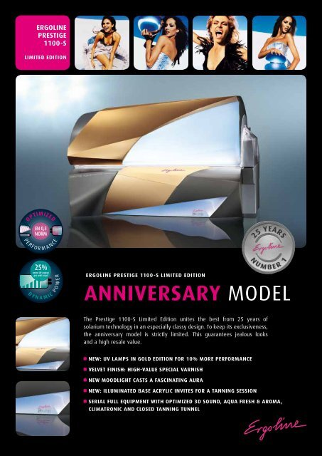 ANNIVERSARY MODEL - JK-International GmbH