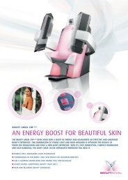 AN ENERGY BOOST FOR BEAUTIFUL SKIN - JK-International GmbH