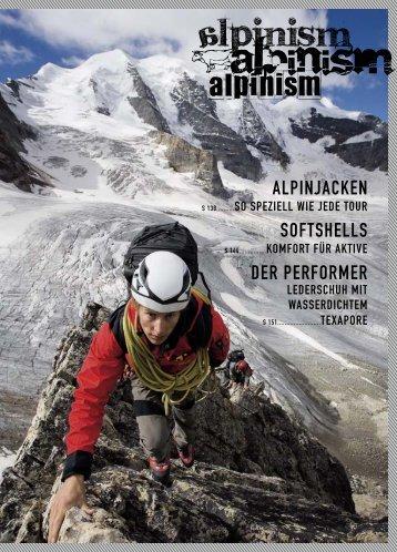 SOFTSHELLS DER PERFORMER ALPINJACKEN - Jack Wolfskin