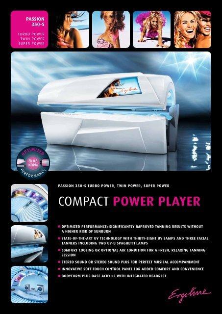 COMPACT POWER PLAYER - JK-International GmbH