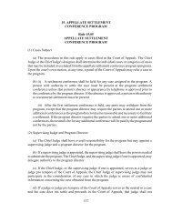 Settlement Rules - Oregon Judicial Department