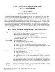 restraining order - Oregon Judicial Department - State of Oregon