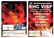 Kontakt: Marcel Kalbermatten, Seewjinenstrasse 12 ... - EHC Visp