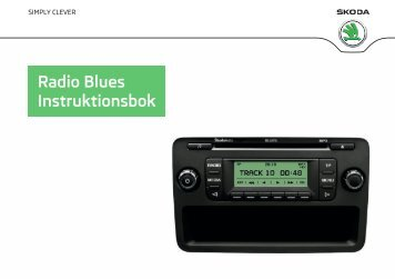 Radio Blues Instruktionsbok - Media Portal - Škoda Auto