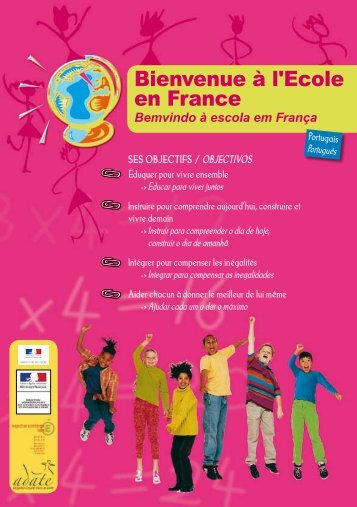 Bienvenue à l'Ecole en France