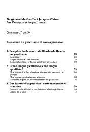 Du général de Gaulle à Jacques Chirac Les Français et le gaullisme ...