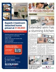 Extended semi has a stunning kitchen