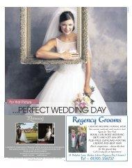 Regency Grooms ...PERFECT WEDDING DAY