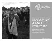 unge med i et globalt fællesskab - Det Danske Spejderkorps