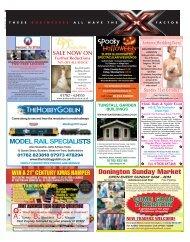 Donington Sunday Market