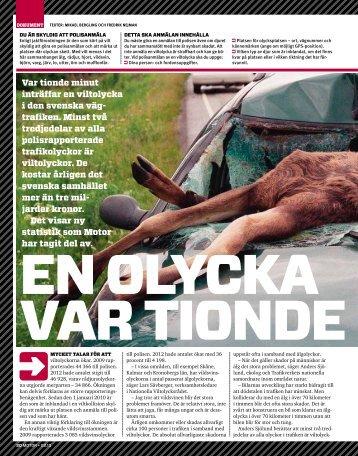 Var tionde minut inträffar en viltolycka i den svenska väg ... - Cision