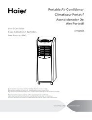 Portable Air Conditioner Climatiseur Portatif Acondicionador ... - Haier