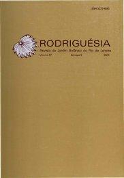 RODRIGUESIA - Fundação Biblioteca Nacional