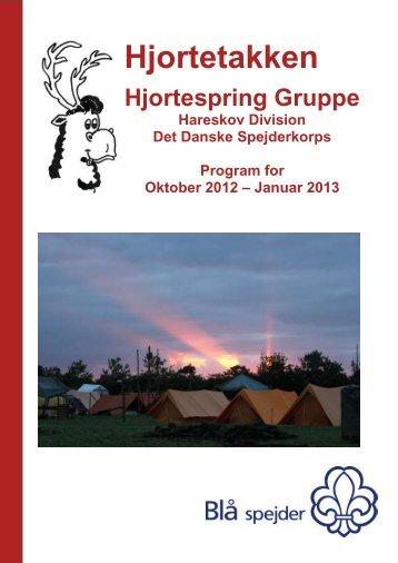 2012_10 Hjortetakken.pdf - Hjortespring - Det Danske Spejderkorps