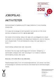 Jobopslag Spejdernes Lejr Aktiviteter.pdf