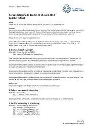 Referat fra Korpsledelsesmøde april 2013 - Det Danske Spejderkorps
