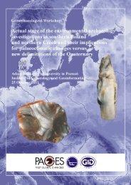 Geoarchaeological Workshop - Uniwersytet im. Adama Mickiewicza