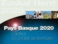 Synthèse socio-économique du Pays Basque - CRDP Aquitaine