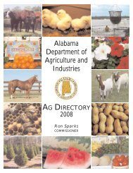Alabama Department of Agriculture and Industries