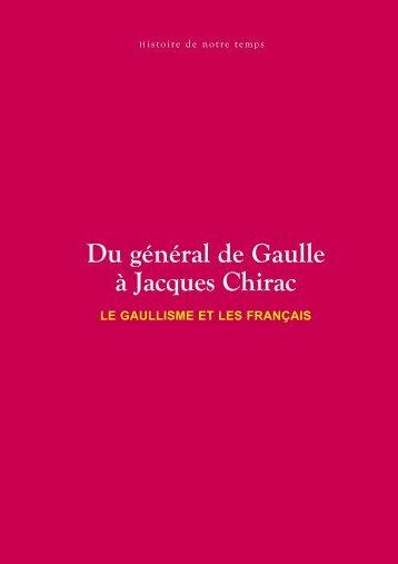 Du général de Gaulle à Jacques Chirac