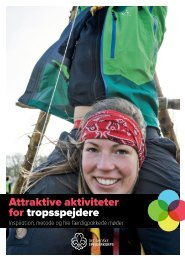 Attraktive aktiviteter for tropsspejdere - Det Danske Spejderkorps