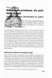 Nationaal-socialisme als politieke religie - Groniek