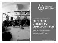alle ledere en ambitiøs lederuddannelse - Det Danske Spejderkorps