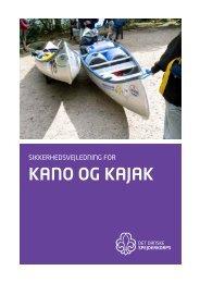 KANO OG KAJAK - Det Danske Spejderkorps
