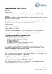Referat fra Korpsledelsesmøde maj 2013 - Det Danske Spejderkorps