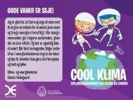 Cool Klima - Det Danske Spejderkorps