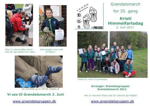 Grøndalsmarch for 35. gang Kristi Himmelfartsdag