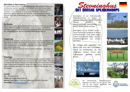Stevninghus ist ein internationales Pfadfinderzentrum in Kliplev im ...