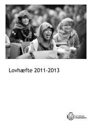 Lovhæfte 2011-2013 - Det Danske Spejderkorps