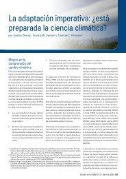 La adaptación imperativa: ¿está preparada la ciencia ... - WMO