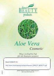 Aloe Vera Cosmetic (380KB) - Direct Beauty