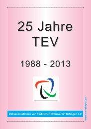 25 Jahre TEV