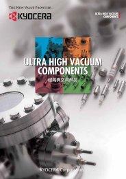 Ultra High Vacuum Feedthrough - Kyocera