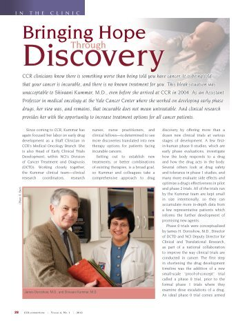 Bringing Hope Through Discovery