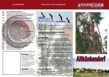 Altkünkendorf - Angermünde