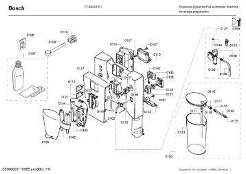 TCA5201/01 beverage preparation Espresso-Systems/Full