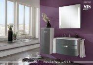 Badmöbel - Neuheiten 2011