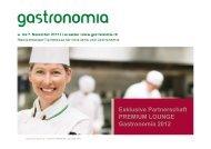 Gastronomia 2012
