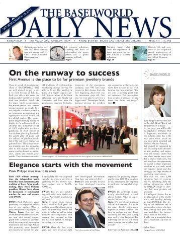 On the runway to success - MCH Group