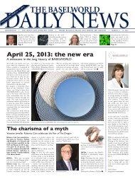 April 25, 2013: the new era - MCH Group