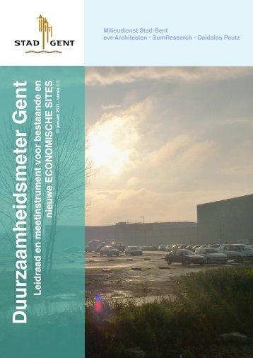 Duurzaamheidsmeter Gent