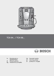 TCA 64... / TCA 68...