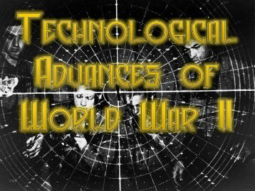 Technology and Atomic Bomb