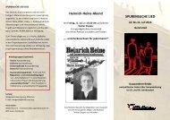 Heinrich-Heine-Abend SPURENSUCHE LIED - Bund Deutscher ...
