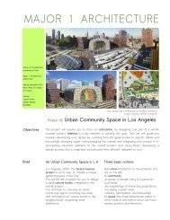 Project 2 - University of Utah Graduate School of Architecture